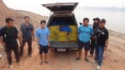 Arrested smugglers