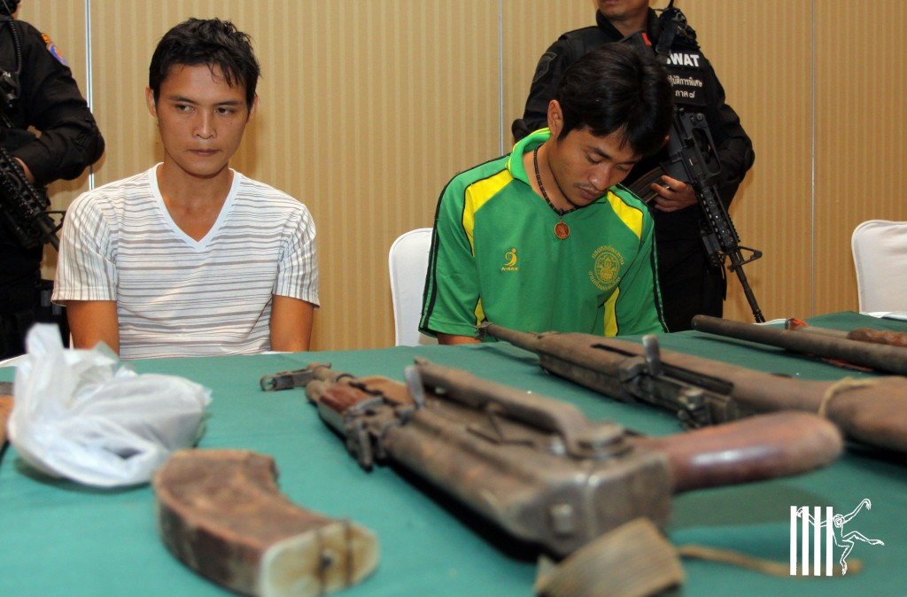 the elephant poachers in February 2012