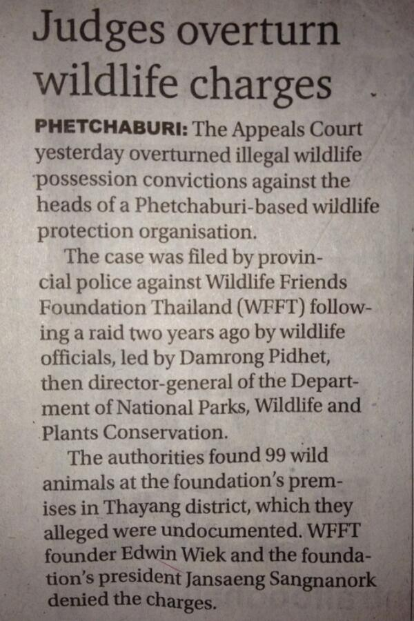 Bangkok post article February 28th 2014