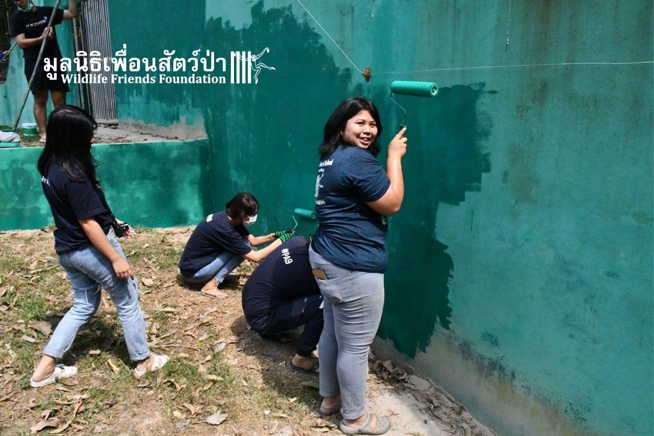 Volunteers at WFFT
